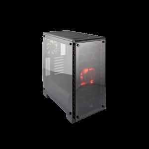 Corsair Crystal Black 460X Compact ATX Mid Tower
