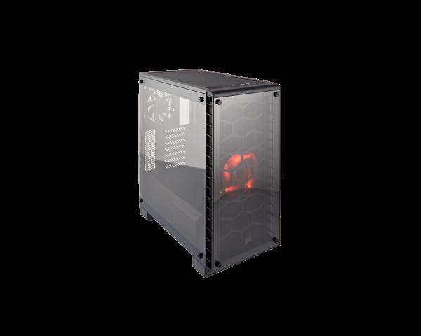 Corsair Crystal Black 460X Compact