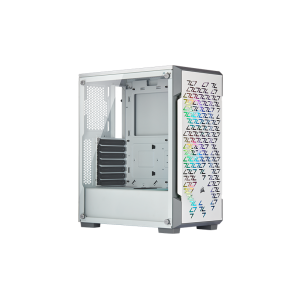 Corsair iCUE 220T White RGB Airflow Tempered Glass Mid-Tower
