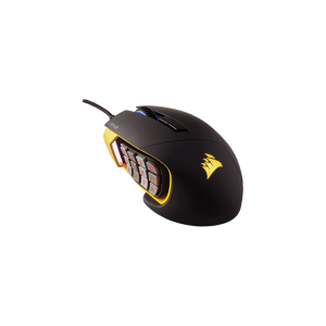 Corsair Scimitar Pro RGB Yellow and Black