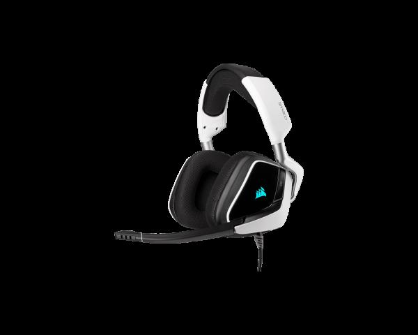 Corsair Void RGB White Elite USB Premium Gaming Headset