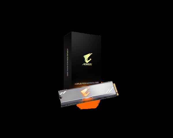 Gigabyte AORUS 256GB RGB NVMe SSD