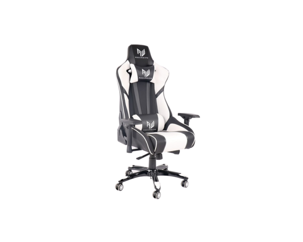 Rogueware Formula Black and White Gaming Chair