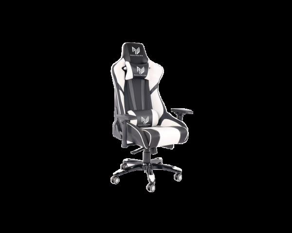 Rogueware Formula Black and White Gaming Chair