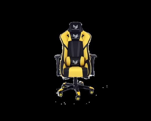 Rogueware Formula Black and Yellow Gaming Chair