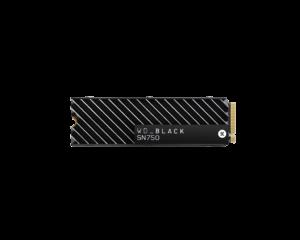 Western Digital Black 1TB SN750 With Heatsink NVME M.2