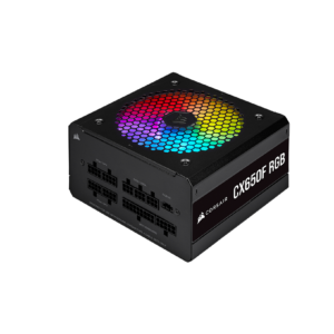 Corsair CX Series CX650F RGB 650 Watt 80 Plus Fully Modular