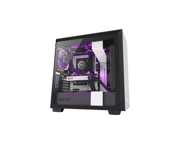 NZXT H710i White And Black