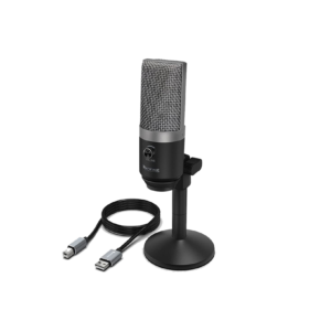 FIFINE K670B Cardiod USB Condensor Microphone With Stand